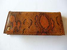 Da Donna Borsetta Imitazione Pelle di Serpente con catena color oro Cinghia a tracolla