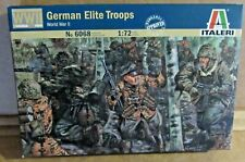 ITALERI GERMAN ELITE TROOPS WORLD WAR 2 1:72 SCALE MODEL SOLDIERS PLASTIC