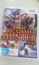 Cabela's Big Game Hunter 2010 Nintendo Wii PAL Version
