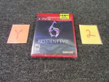 PS3 PLAYSTATION  VIDEO GAME RESIDENT EVIL GREATEST HITS 2012 NEW
