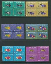 Papua New Guinea Insects Wildlife Set 2005 Blocks MNH(24 Stamps)PAP63