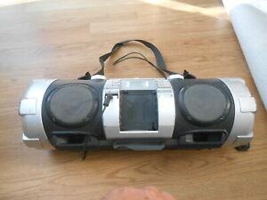 JVC BOOMBOX  RV-NB50  POWERED WOOFER CD SYSTEM - RETRO BOOM BLASTER,