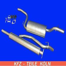 Ford Focus II Kombi - 1.4 /1.6 / 1.8 / 2.0 - AUSPUFFANLAGE  Auspuff +Montagesatz
