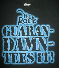 "The ROCK ""SEAL OF APPROVAL - SYMBOL OF GREATNESS"" 2XL Shirt Guaran-Damn Tees It"