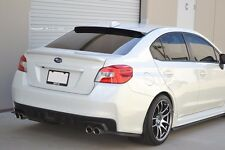 HIC USA 2015 to 2018 Impreza WRX STI sedan rear roof window visor spoiler