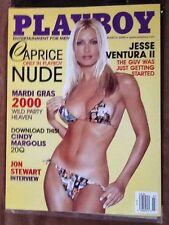 Playboy Magazine - March 2000 Jesse Ventura, Jon Stewart Int, Mardi Gras 2000!