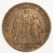 Ecu 5 Francs Hercule 1874 K