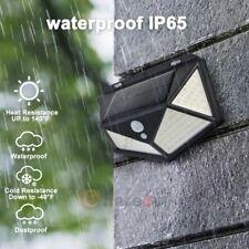 114 Solar LED Light Sensor Motion Garden Waterproof Security 3 Mode Yard Lamp