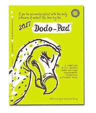 DODO PAD A4 2017 diary-planner refill - A4 Filofax organiser compatible (DFXL17)