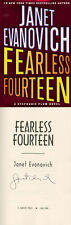 Janet Evanovich SIGNED AUTOGRAPHED Fearless Fourteen *Stephanie Plum* HC 1st Ed