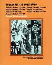 Jaguar Mk 1, 2 1955-1969 Autobook [Paperback]