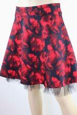 Regular Size Floral Knee-Length Full Skirts for Women