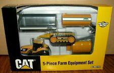 Ertl 1:64 Caterpillar Challenger 45 Tractor Spreader Sprayer 5pc Farm Toy Set