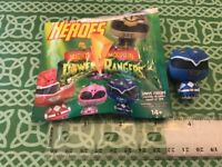 Funko Pint Size Mighty Power Rangers Blue Ranger Figure NEW FREE SHIPPING