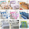 LUXURY BEDDING SET PRINT DUVET COVER WITH PILLOWCASE SINGLE DOUBLE KING SIZE