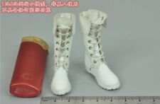 White Boots for SUPER DUCK SET033 Cosplay Special Forces Fighting Goddess 1/6