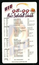 UIC Flames--1998-99 Basketball Magnet Schedule