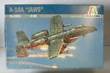 "Italeri 1/48 A-10A Thunderbolt ""JAWS"""