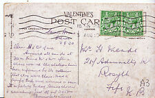 Genealogy Postcard - Family History - Meade - Rosyth - Fife - Scotland  U3126