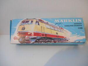 Märklin 3053 Schnellfahrlokomotive E03 zum Basteln HO gebraucht mit OVP.