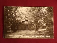 Camp Barakel Fairview MI Michigan Vintage Postcard RPPC