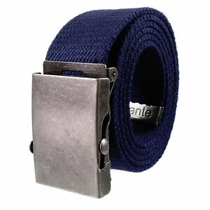 Gelante Canvas Cotton Web Belt Military Style  Adjustable Belt