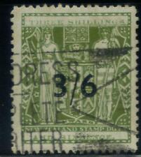 New Zealand Arms overprints 1931 3/6d Used  ii