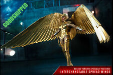 HOT TOYS DC WONDER WOMAN 1984 GOLDEN ARMOR DELUXE MMS578 GAL GADOT 1/6 NEW WINGS
