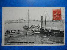 LE HAVRE  :  L' Arrivée du Bateau de Trouville.......VO.1908.