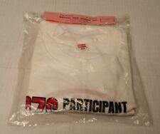 Rare Vtg 1976 28th Annual Bonneville Salt Flats Participant Tee Shirt White M
