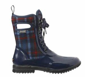 BOGS Women's Sidney Lace Plaid Waterproof Winter  Boots 71770--6US