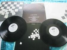 CHESS Benny Andersson Tim Rice Björn Ulvaeus UK 2x Vinyl LP Album Set