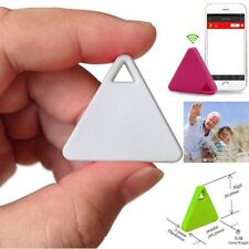 White Pet Wallet Key-Finder GPS Locator Alarm Bluetooth Smart Mini Tag Tracker