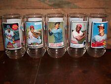 1993 McDonald'S All Time Greatest Baseball Team Set Of (9) Glasses , Beautiful