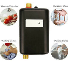 3000W Mini Instant Hot Water Heater Electric Tankless On Demand House Shower US