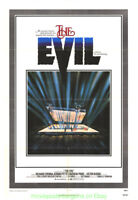 THE EVIL MOVIE POSTER V.G. ONLY!Original 1978 Folded 27x41 HORROR RICHARD CRENNA
