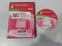 DVD ENGLISH BBC WHAT´S YOUR NAME ? CD-ROM UNIT LECCION 1