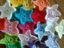 Lotto 6 stelle uncinetto bomboniere - stelline crochet - natale