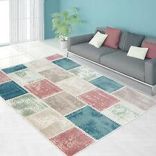 Designer Teppich Patchwork Muster mehrfarbig diverse Maße TOP NEU!