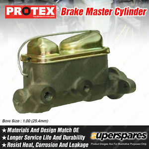 Protex Brake Master Cylinder for Ford Mustang RWD With Power Brakes 4.7 6.4L