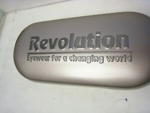 Revolution Eyeglass  CASE  ONLY has dual compartment -small to medium size