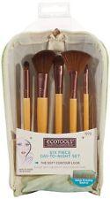 EC21 Set maquillaje EcoTools, Six Piece Day-to-Night Brush Clutch Set, 5 brochas