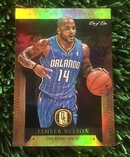 12/13 Panini Gold Standard JAMEER NELSON Black #1/1 ORLANDO MAGIC