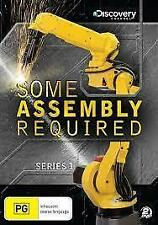 Some Assembly Required Series 1 Discovery Channel (DVDx2, 2009) New Region 4