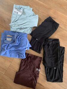 Ladies BAM Bamboo Clothing Yoga Bundle 12/14 Leggings / Tops