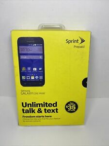 Samsung Galaxy Core Prime SM-G360P - 8GB - Gray (Sprint) Smartphone NEW