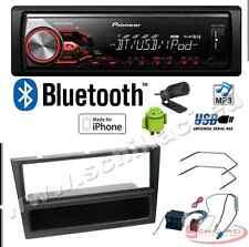 Pioneer MVH-390BT autoradio USB / bluetooth + Kit montaggio per OPEL Astra / Ag