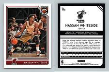 Hassan Whiteside - Heat #115 Complete Basketball 2016-17 Panini NBA Trading Card