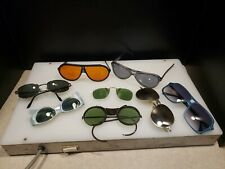 Lot of 8 vintage 70s / 80s sunglasses goggles crazy weird styles