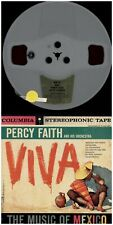 PERCY FAITH & his Orch. Viva! COLUMBIA STEREO 7 1/2 TWO TRACK REEL TO REEL TAPE